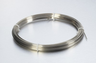 1.50 x 0.75mm Half Round Stainless Wire - Hard