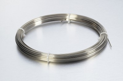 2.50 x 1.25mm Half Round Nickel Silver Wire - Hard