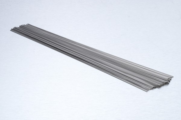 0.35mm Stretched Round Stainless Wire - Soft (LENGTHS (10 PIECES))